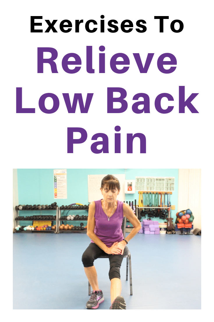 chair exercise for back pain