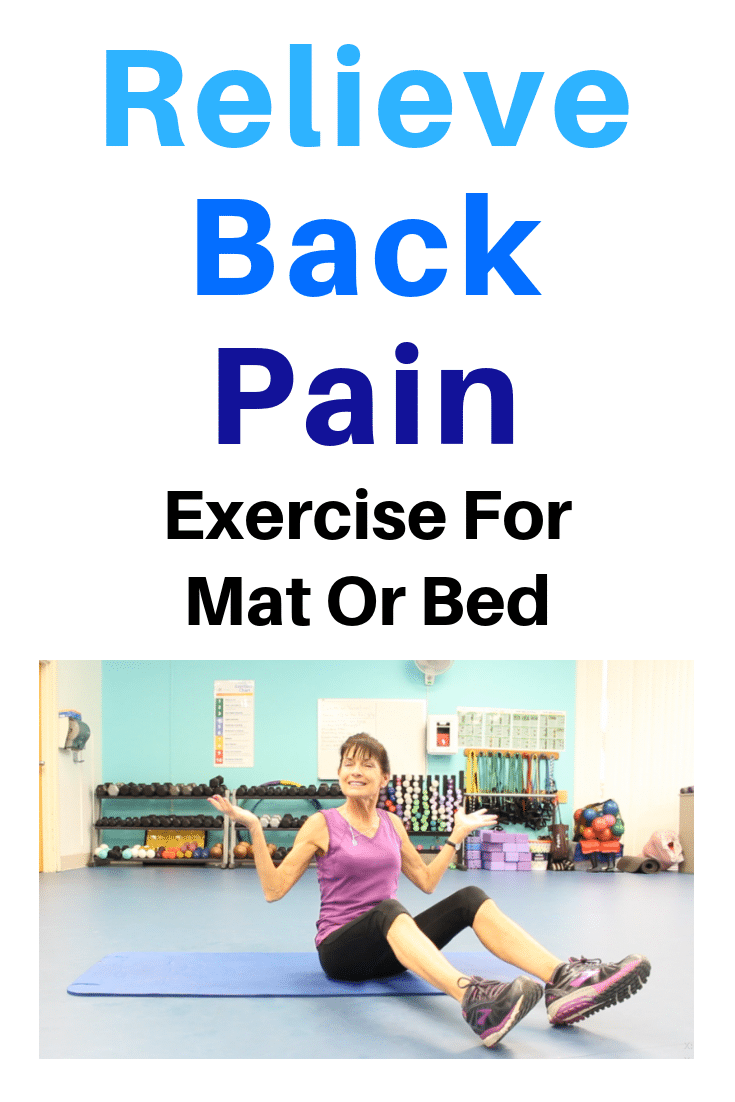 mat exercise for back pain