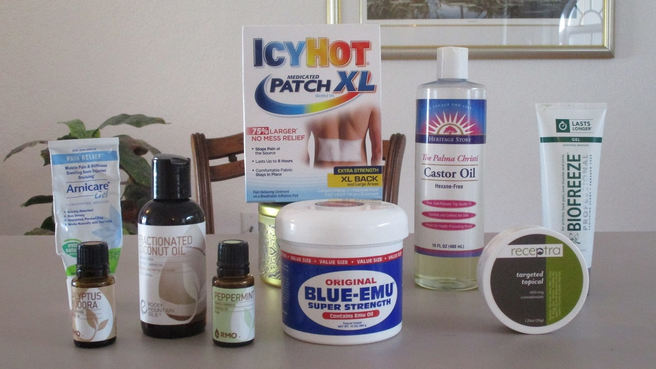 Pain relief creams