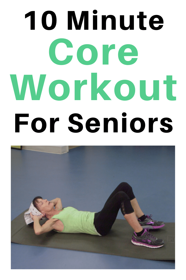 core workout for seniors