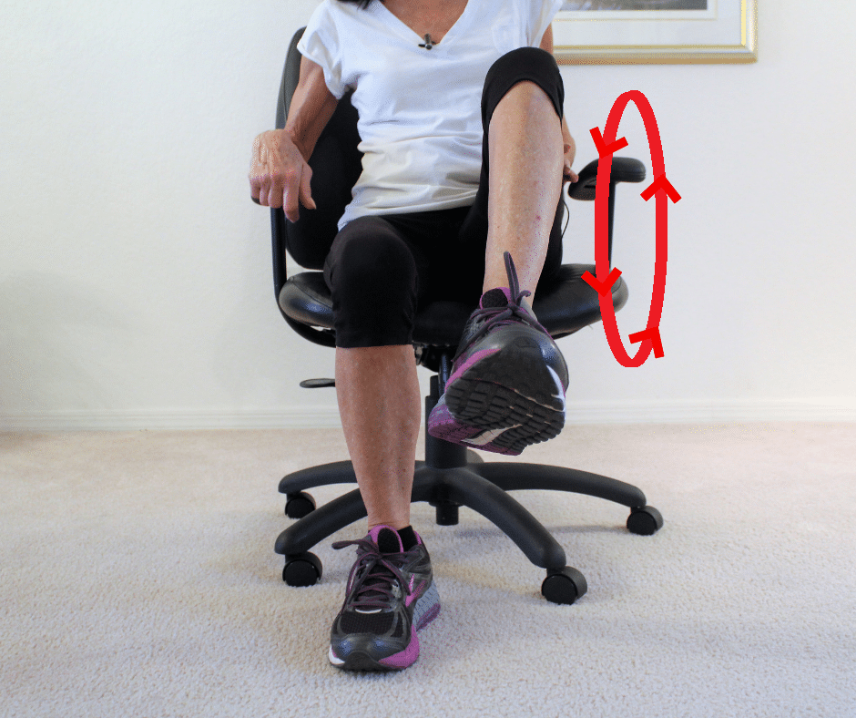 Relieve knee pain exercise