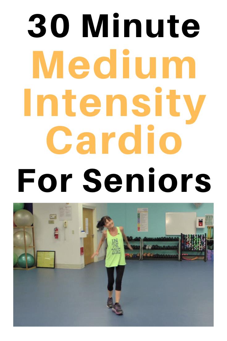 medium intensity senior cardio