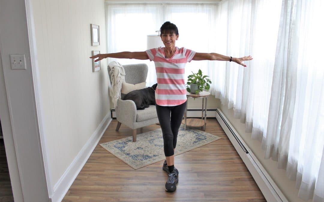 7 Minute Senior Balance Exercises