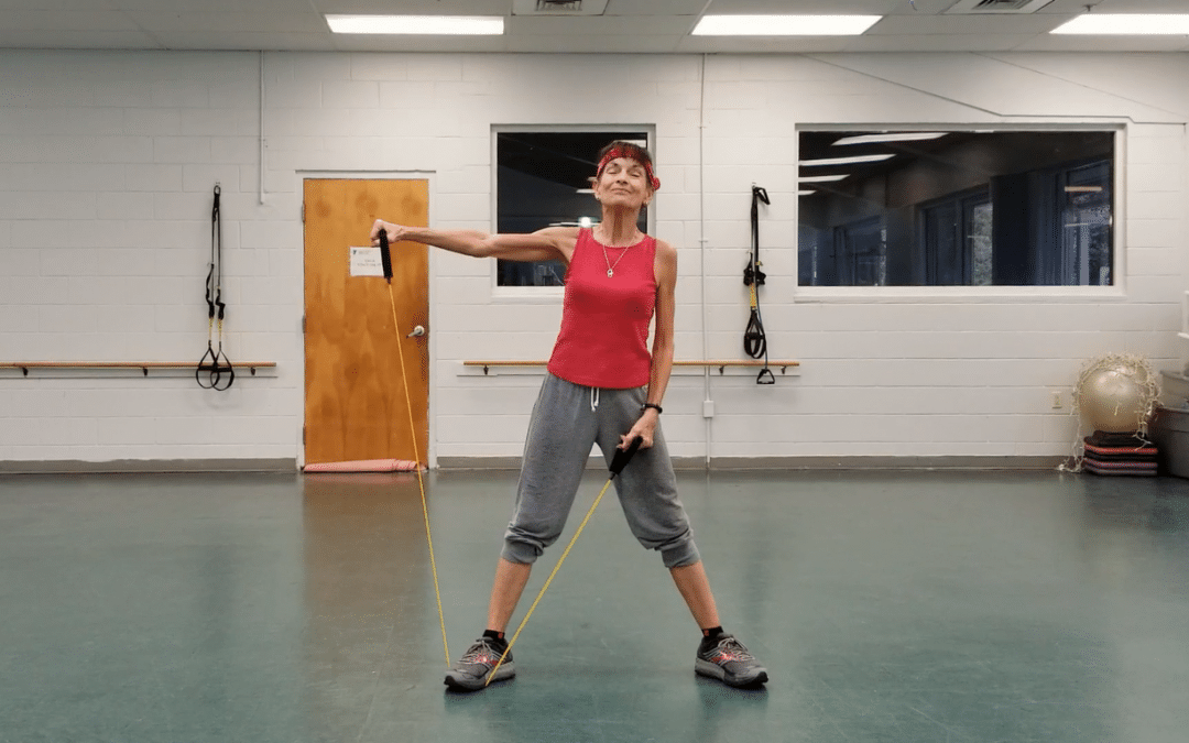 Resistance Band Arm Workout to Tone Those Arms