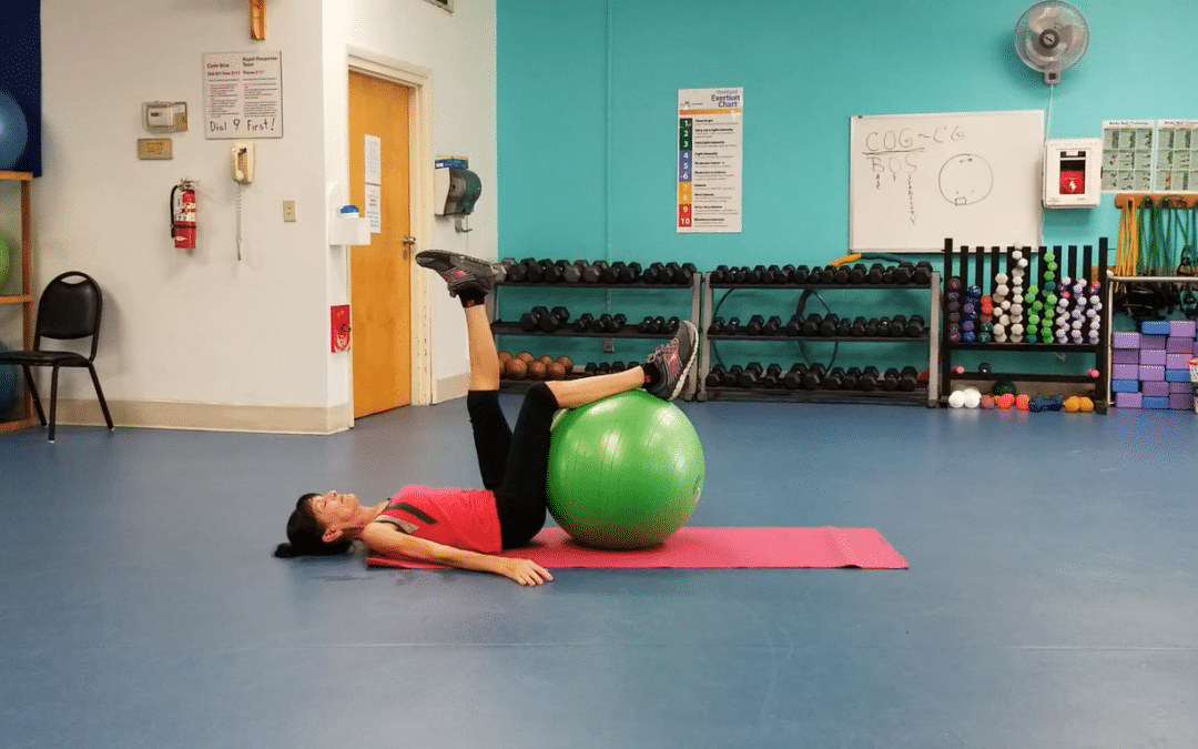 Stability Ball Moves To Relieve Low Back Pain