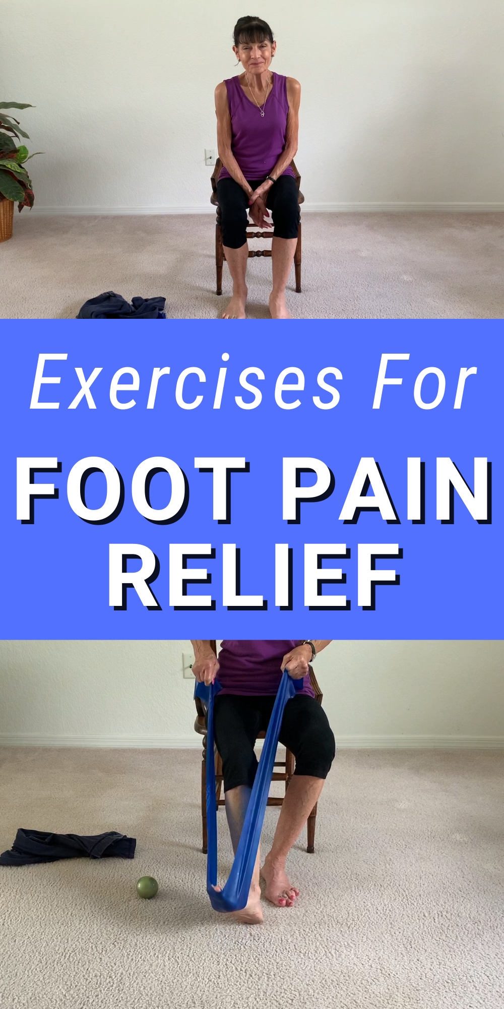foot stretches for pain relief