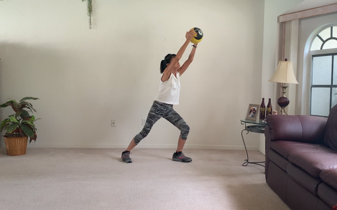 10 Minute Senior Medicine Ball Workout