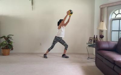10 Minute Senior Medicine Ball Workout