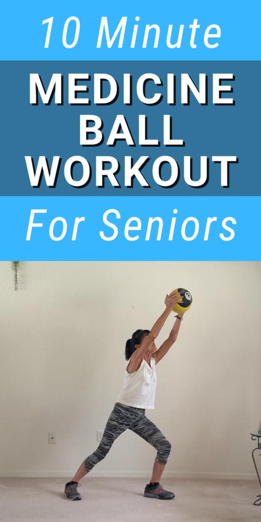medicine ball exercise for seniors